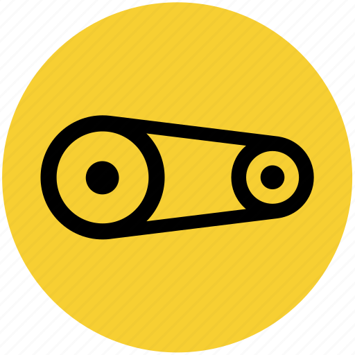 Car, engine, motor, pulley icon - Download on Iconfinder