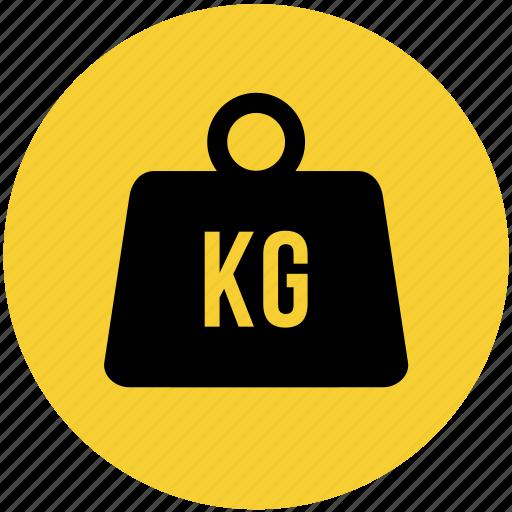 Kg, kilogram, transportation, weight icon - Download on Iconfinder