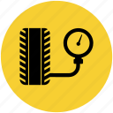 car, check, compressor, pressure, pump, tire repairs, tyres icon