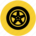 car, part, tire, tires, wheel icon