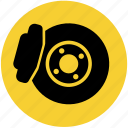 brake, brakes, break, car, disk break icon