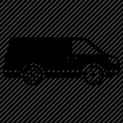 box car, car, transportation, van car, vehicle icon