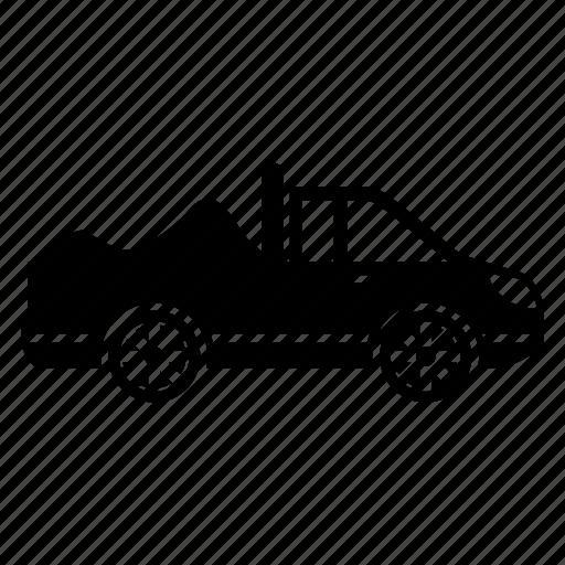 car, transportation, truck, truck car, vehicle icon