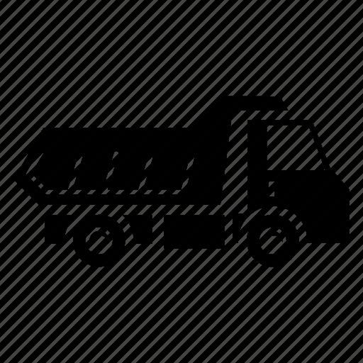 car, transportation, trash car, truck, truck car, vehicle icon