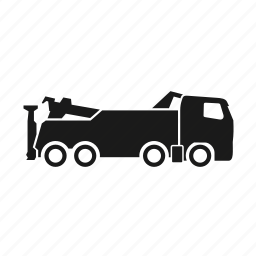 car, tow truck, transport, truck, vehicle icon