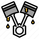 car, engine, oil, piston