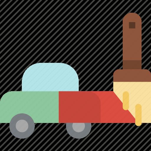 automobile, car, paint, transport, transportation, vehicle icon