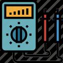 automobile, car, electrical, electronics, repair, service icon