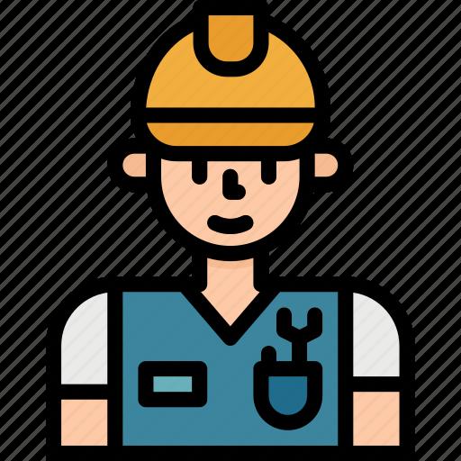 avatar, job, mechanic, occupation, user, worker icon