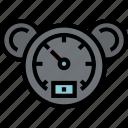measuring, speedometer, transportation, velocity icon