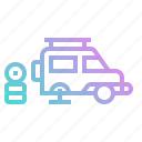 automobile, car, garage, maintenance, transportation, vehicle icon
