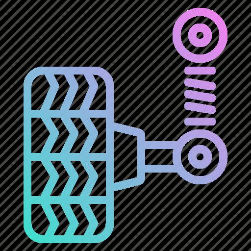 Car, garage, pump, service, tire, wheel icon - Download on Iconfinder