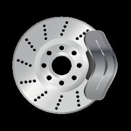brake, brakes, car, service, vehicle icon
