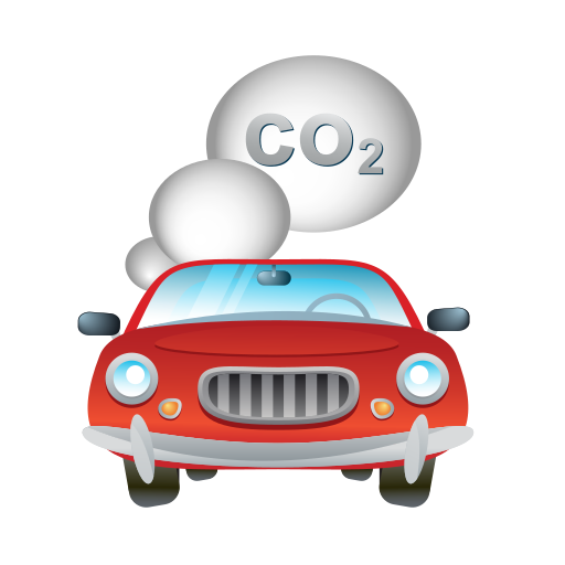automobile, car, smoke, transport, vehicle icon