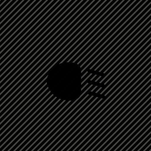 foglight, headlight, light, low-beam icon