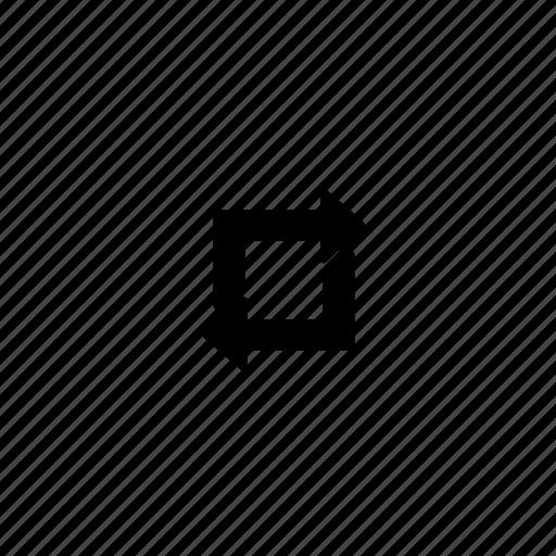 arrows, loop, reload, repeat icon