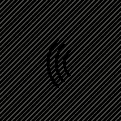 pulse, sensor, signal, wave icon