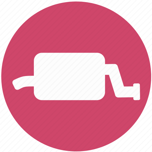 Car, exhaust, muffler, pipe icon - Download on Iconfinder