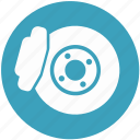 brake, brakes, break, disk break icon