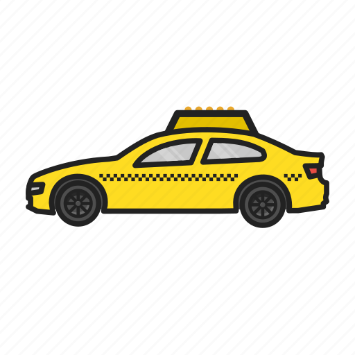 car, taxi, transport, vehicle icon