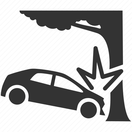 accident, car, car crash, crash, hit, smash, strike icon