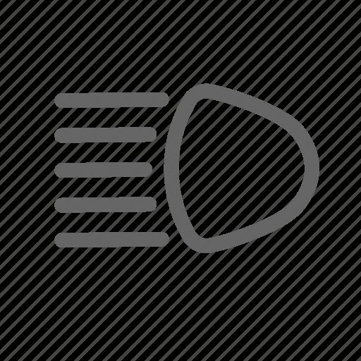 Beam, car, dashboard, headlight, light, main icon - Download on Iconfinder