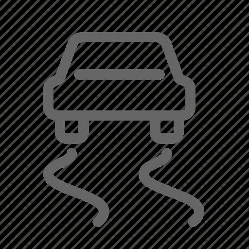 car, dashboard, electronic, electronic stability programme, program, stability icon