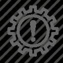 alert, car, dashboard, gearbox, problem, setting icon