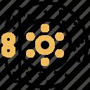 brake, caliper, disk, system, wheel icon