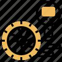 service, air, pressure, pump, tire icon
