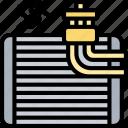 engine, coil, evaporator, conditioner, air