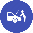auto, car, engine, mechanic, mechanical, repair, vehicle icon