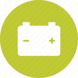 batteries, battery, car, energy, power, sign, terminals icon