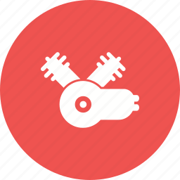 automobile, automotive, car, engine, motor, parts, power icon