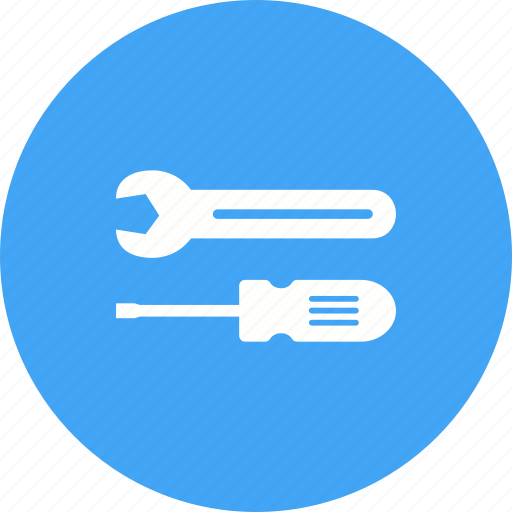 Mechanic, repair, screwdriver, spanner, tools, work, wrench icon - Download on Iconfinder