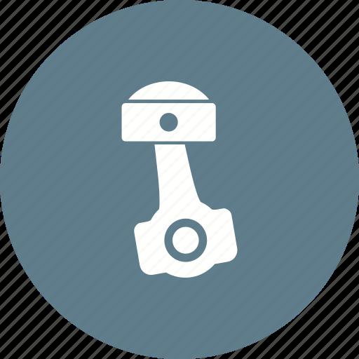 automobile, car, engine, engineering, parts, piston, rod icon