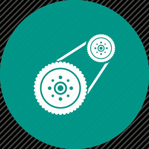 Automotive, car, engine, flywheel, plate, power, steel icon - Download on Iconfinder