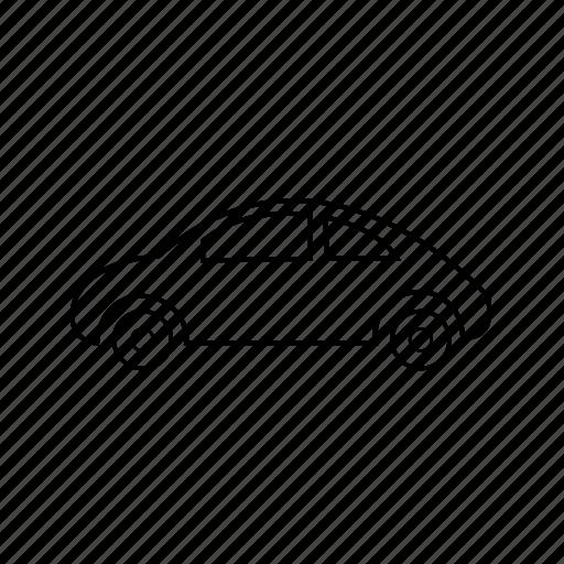 automobile, cab, car, taxi, transport, van, vehicle icon