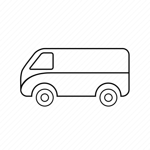 car, delivery, shipping, taxi, transport, van, vehicle icon