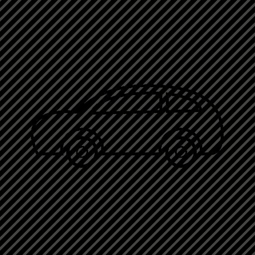 car, police, taxi, traffic, transportation, van, vehicle icon