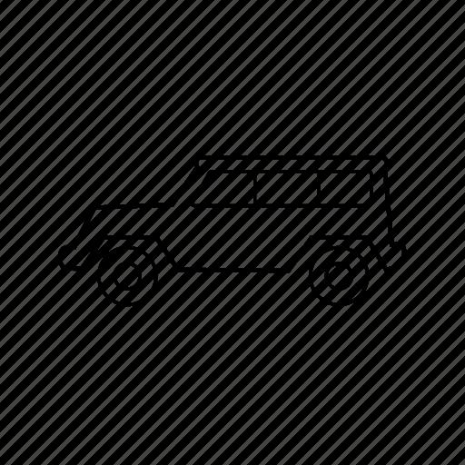 car, hummer, sports car, suv, transport, van, vehicle icon