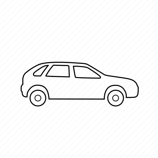 automobile, car, sports car, taxi, transport, vacation, vehicle icon