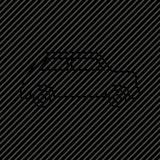 cab, car, taxi, transportation, travel, van, vehicle icon