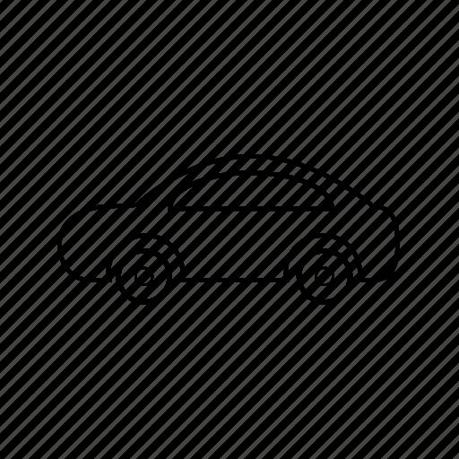 cab, car, taxi, transport, transportation, van, vehicle icon