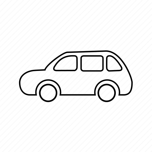 auto, automobile, car, taxi, transport, van, vehicle icon