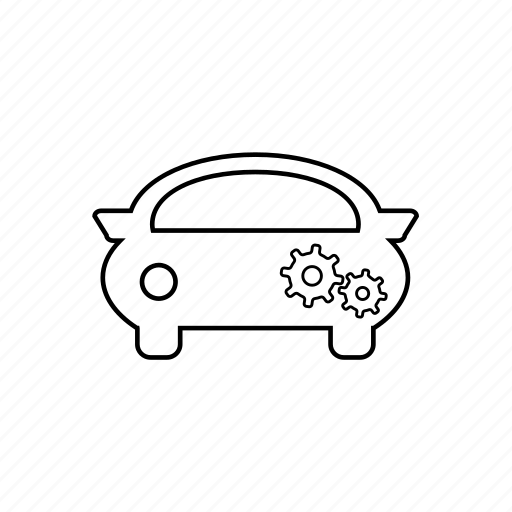 automobile, car, setting, taxi, tools, transport, vehicle icon