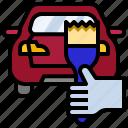 car, paint4, spray, paint, gun, painting, repair