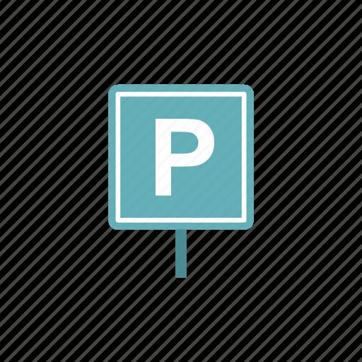 city, empty, garage, label, line, parking, vehicle icon