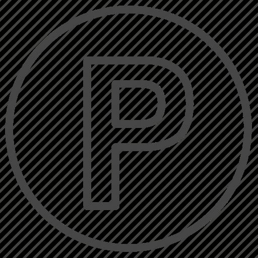 Car, park, parking, sign icon - Download on Iconfinder