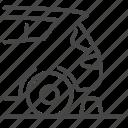 barrier, car, park, parking, parking lot, vehicle icon